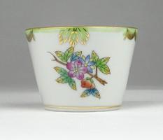 0Y017 Viktóriamintás Herendi porcelán tálka