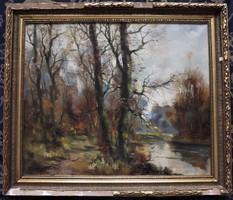 Kézdi Kovács Elemér - őszi erdő -