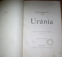 Flammarion Uránia Myrbach stb. részben erotikus rajzaival 1890!