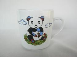 Kahla porcelán panda macis mese gyerek bögre