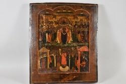 Antik ikon 18sz orosz