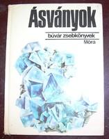 Ásványok Búvár zsebkönyvek sorozatból