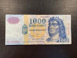 *** Erősebb állapotú 1999 DC 1000 forint ***