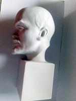 Drasche / Kőbányai nagyon riktka Lenin kisplasztika
