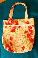 Új, nagy vászon szatyor, táska.40x40x10 cm