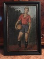 Chován Lóránt ( 1913-2007 ) Vasas focista