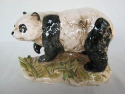 Német porcelán panda maci