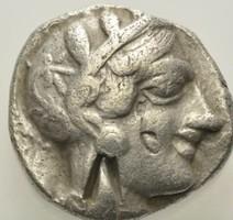 Attika Athén ezüst Tetradrachma    16.43g 24 mm