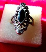 Retro gyűrű bizsu