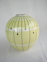 Wallendorf porcelán art deco váza