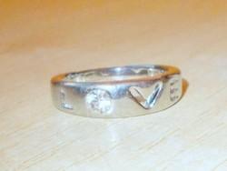Ékköves Uniszex Karikagyűrű 7-9 méretig