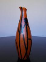 Retro Tófej kerámia váza