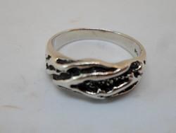 Szép kézműves  ezüst gyűrű