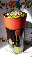 Barack pálinkás papír díszdoboz Unicum likőrgyár