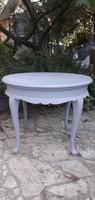 Provence neobarokk szalon asztal
