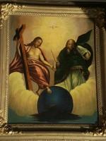 Ismeretlen festő (1850 körül) : Szentháromság