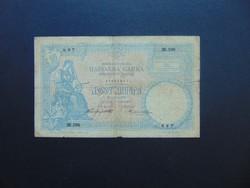 Szerbia 10 dinár 1893 RITKA !