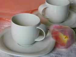 Rosenthal studio-Linie porcelán mokkás szett 2 fő részére, csésze, kistányér