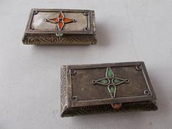 Marrokkói fém szelencés dobozka