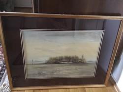 Nemes Tibor festménye