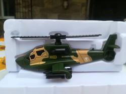 Új-Katonai H08 helikopter-repülő modell-matchbox 1:64 dobozában