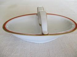 Antik Zsolnay porcelán asztali főszertartó