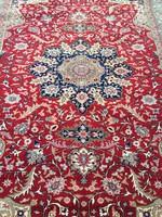 Ritka Kézicsomózás Vintage Török Kaiseri szőnyeg 300x192