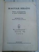 Magyar sirató-Móricz Pál dedikált 1931