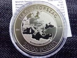 Az első világháború befejezésének 100. évfordulójára .925 ezüst 10000 Forint 2018 BP PP / id 10555/