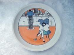 Alföldi tányér