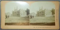 Sztereofotó Pretoria-i bíróság épületéről (Dél-Afrika), 1901