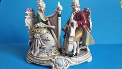 Nagyméretű Lippelsdorf porcelán
