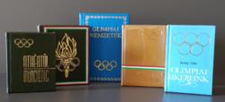Minikönyvek - Tematikus válogatás: Olimpia