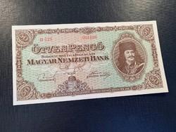 *** 1945 50 pengő UNC ***
