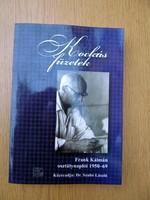Kockás füzetek - Frank Kálmán osztálynaplói 1950-69 - Dr. Szabó László (új)