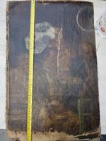 Egy nagy talány, foltos vászon, zseniális részletekkel, és lelakkozva