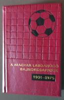 Minikönyv - A Magyar Labdarúgó Bajnokcsapatok 1901 - 1975