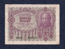 Ausztria 20 Korona 1922 / id 10748/