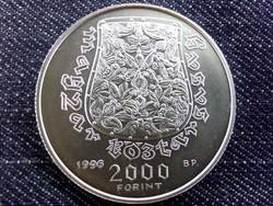 A honfoglalás 1100. évfordulója ezüst 2000 Forint 1996 BP BU / id 10536/
