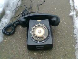 CB 667 fekete tárcsás telefon,üzemképes!!!