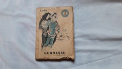 Zola ,Germinal kiskönyv szépirodalom 1 db, posta 180 ft !