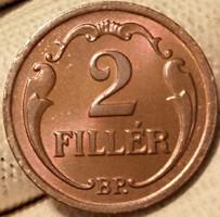 ★1930 Horthy 2 Fillér BP★