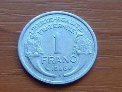 FRANCIA 1 FRANK FRANC 1946 / B ALU. #