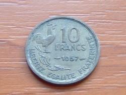 FRANCIA 10 FRANK FRANCS 1957 KAKAS #