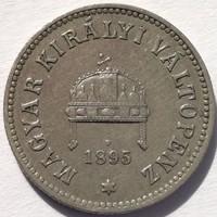 ★1895 Ferenc József 10 Fillér KB★