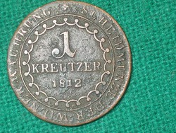 I. Ferenc 1 Krajcár 1812 - Antik Érme