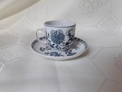 2820- Hollóházi kávés csésze aljjal