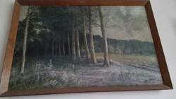 Olaj festmény tájkép