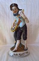 Hatalmas méretű, vélhetően Capodimonte figura 35 cm