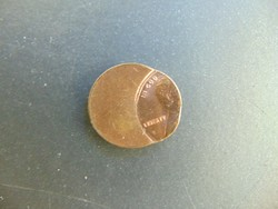 USA 1982 Lincoln cent KB. 70 %-ban félre vert érme !!!